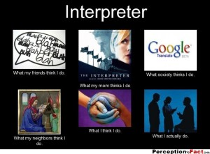 Interpreter-percepción