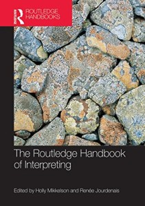 Nuevo libro sobre interpretación: The Routledge Handbook of Interpreting