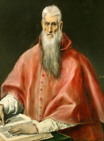 San Jerónimo por El Greco